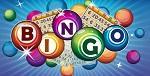 """Bingobollar som formar ordet """"Bingo."""""""